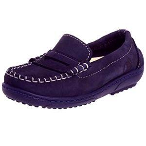 Naturino Blue Boys Polo Leather Loafer- Adorbs!
